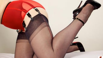 Red XXX in 'Red Knickers'
