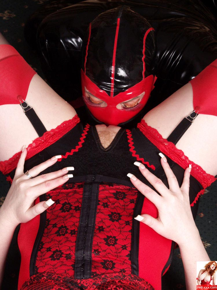 Red XXX 'Rubber Face' starring Red XXX (Photo 19)