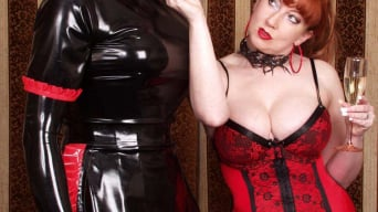 Red XXX in 'Rubber Face'